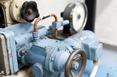 Regeleinichtung Dampfturbine